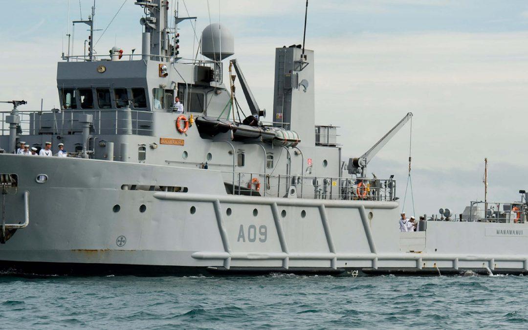 NZ Navy – HMNZA Manawanui